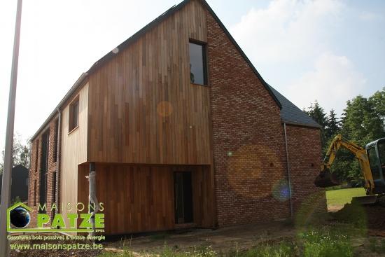 Maison passive à ossature bois à Gembloux
