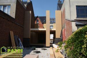 Maison passive jointive à ossature bois à Waterloo
