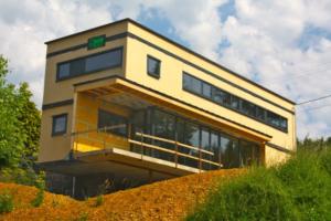 Réalisation d'une maison ossature bois basse énergie à Wierde (Namur)