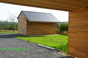 Maison ossature bois basse énergie à Vielsalm (Luxembourg)