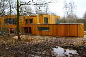 Construction d'une maison à ossature bois en Brabant wallon