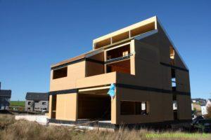 Maison passive à ossature bois au Luxembourg (Baschleiden)