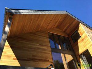 Annexe en ossature bois à Bertrix