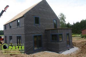 Maison passive à ossature bois à Dinant