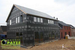 Maison passive ossature bois à Soumagne