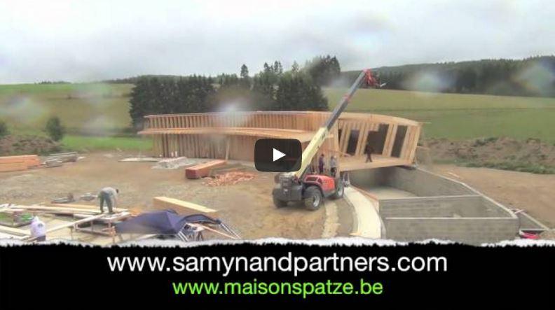 Vidéo: Montage d'une ossature bois – Manneriehof