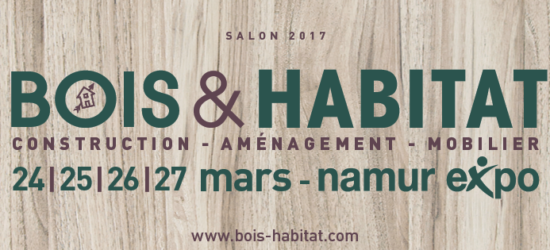 Maisons Patze au salon Bois et Habitat du 24 au 27 mars 2017 à Namur Expo