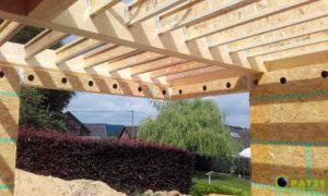 Charpente en bois - Malmedy (Ligneuville) - Maisons Patze