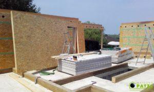 Ligneuville (Malmedy) : Maison à ossature bois signée Maisons Patze