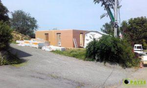 Réalisation d'une maison à ossature bois à Malmedy - Maisons Patze
