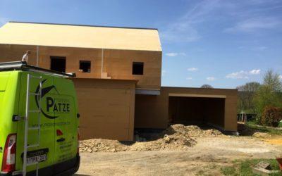 Construction d'une maison unifamiliale en ossature bois à Berismenil