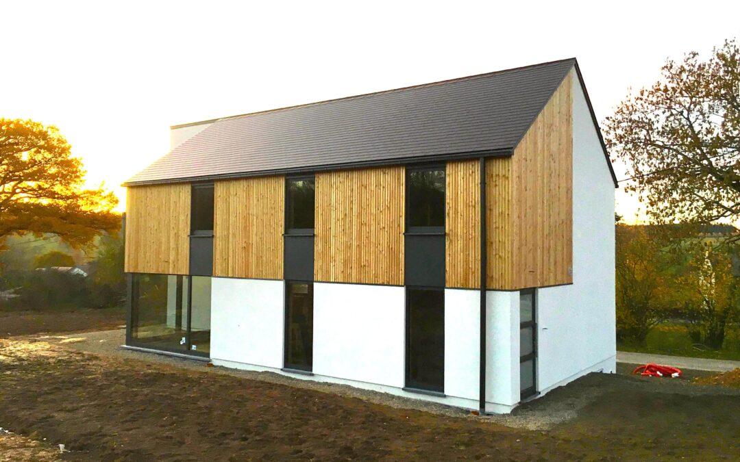 Ossature bois de 200 m2 à Malempré