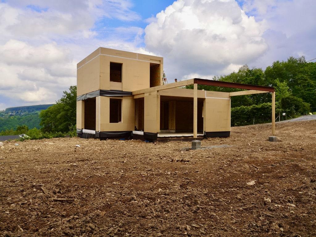 Maison à ossature bois Remouchamps