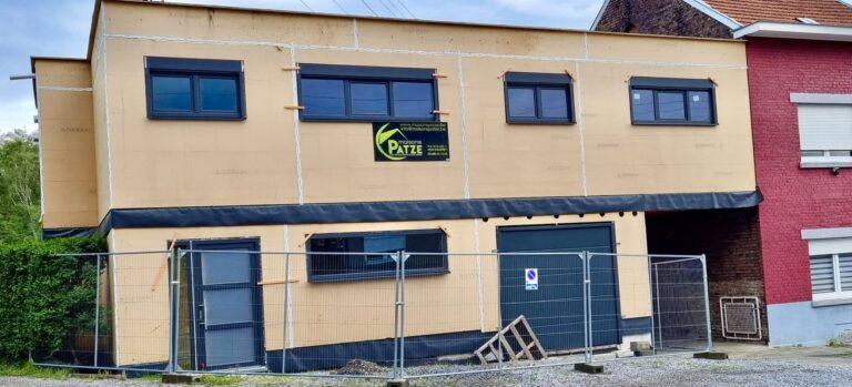 Reconstruction d'un atelier et d'un appartement à Jemeppe